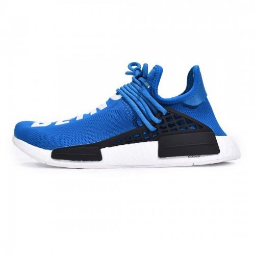 Pharrell Williams x Adidas Originals NMD HU Human Being Sharp Blue BB0618
