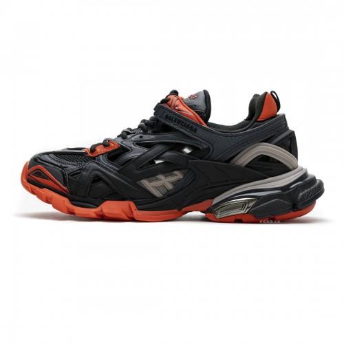 Balenciaga Track 2 Sneaker Dark Grey Orange 570391W2GN12002