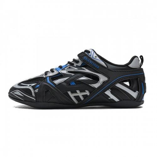 Balenciaga Drive Sneaker Black Blue 624343 W2FD1 1041
