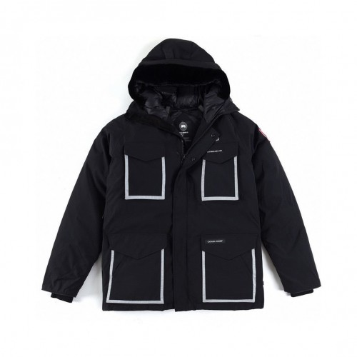 Canada Goose X OVO CHILLIWACK Owl Joint 3M Reflective Down Jacket  CONSTABL 4071MOV