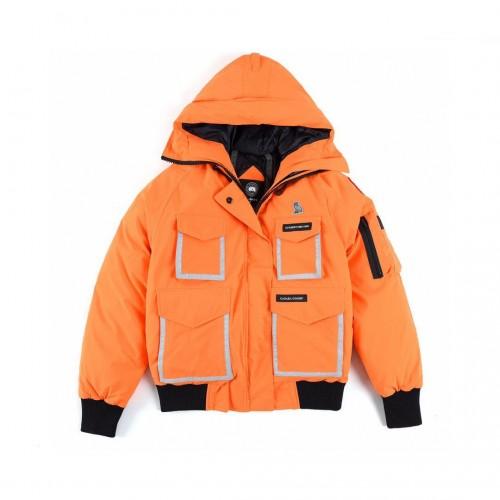Canada Goose X OVO CHILLIWACK Owl Joint 3M Reflective Down Jacket Orange/Black CONSTABL 7951LOV