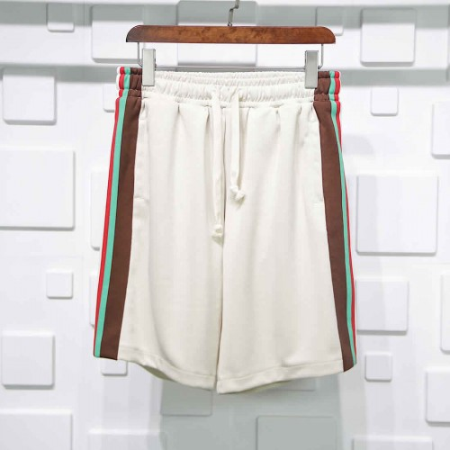 Gucci red green Webbing shorts apricot color