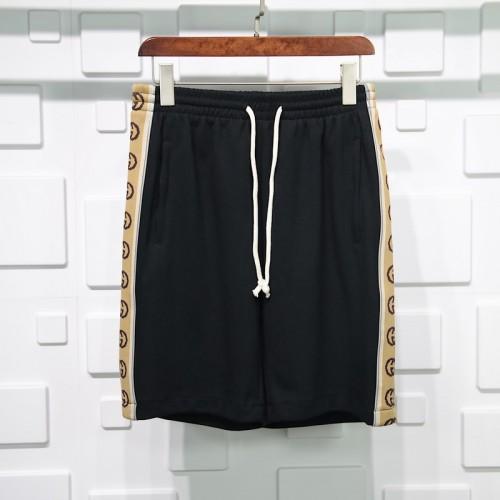 Gucci reflective Webbing shorts black
