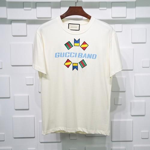 Gucci National flag T-shirt Pure cotton