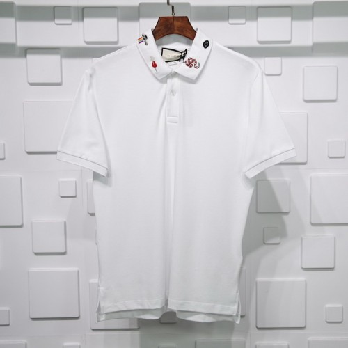 Gucci Rose embroidery Polo Pure cotton