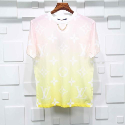 Louis Vuitton Red Yellow gradient T-shirt