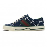 Gucci Dark blue double G sneakers