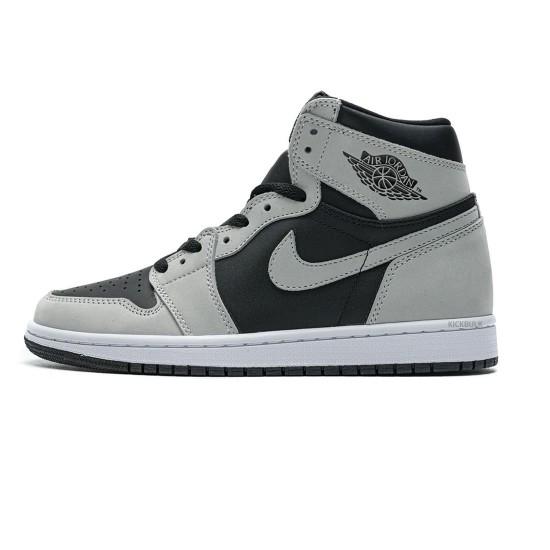 Nike Air Jordan 1 Shadow 2.0 Black Light Smoke Grey 555088-035
