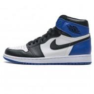 "JORDAN 1 ""FRAGMENT"" RETRO 1S BLACK AND BLUE 716371-040"