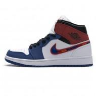 Nike Air Jordan 1 Mid Multicolor Swoosh 852542-146