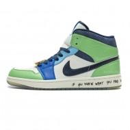 Nike Air Jordan 1 Mid Melody Ehsani CQ7629-100