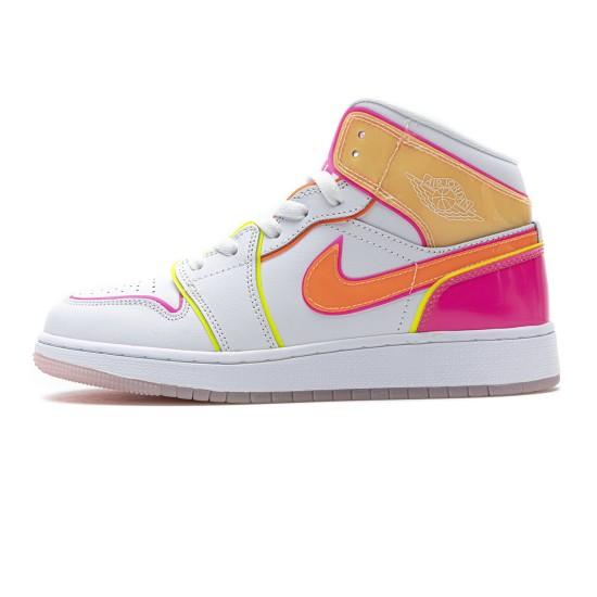 Nike Air Jordan 1 Mid GS 'Edge Glow' CV4611-100