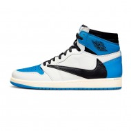 Travis Scott x Fragment x Nike Air Jordan 1 Retro High OG SP 'Military Blue' DH3227-105