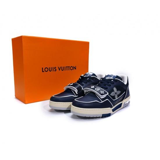 Louis Vuitton Trainer Blue