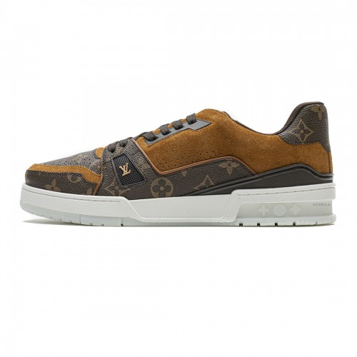 Louis Vuitton 20ss Trainer brown Casual Shoes