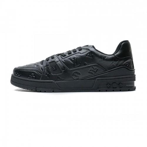 Louis Vuitton 20ss Trainer black Sneaker