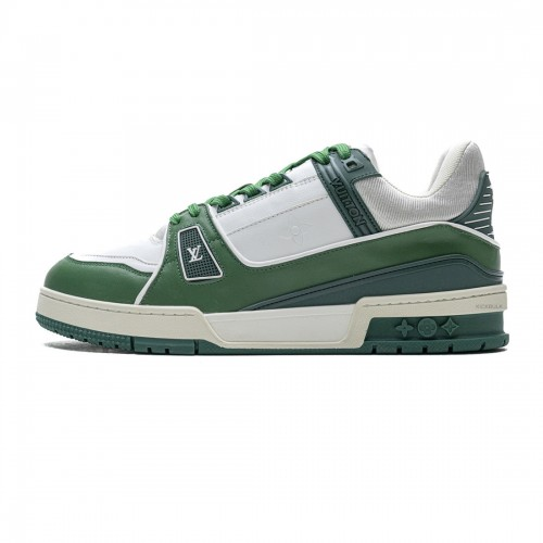Louis Vuitton 20ss Trainer green Casual Shoes