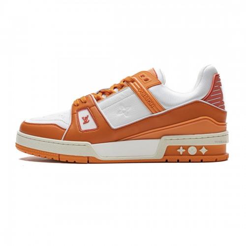 Louis Vuitton 20ss Trainer Orange Casual Shoes