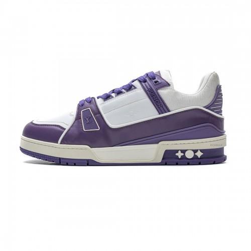 Louis Vuitton 20ss Trainer purple Casual Shoes
