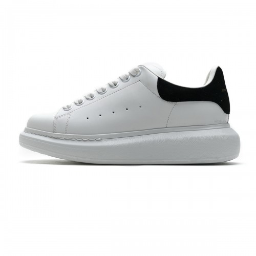 Alexander McQueen Sneaker White Black 462214 WHGP7 9001