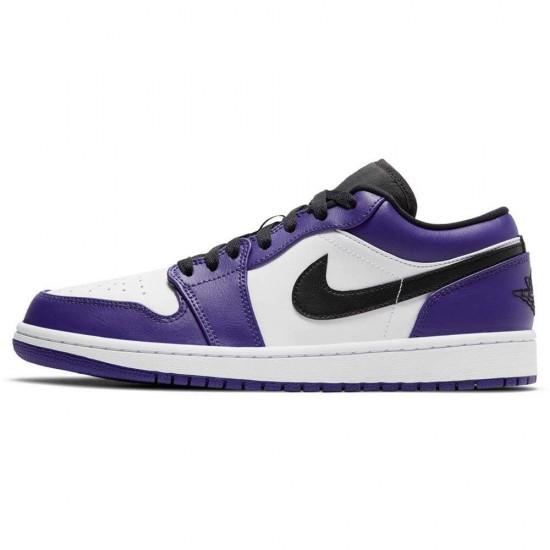 Air Jordan 1 Low 'Court Purple' 553558-500