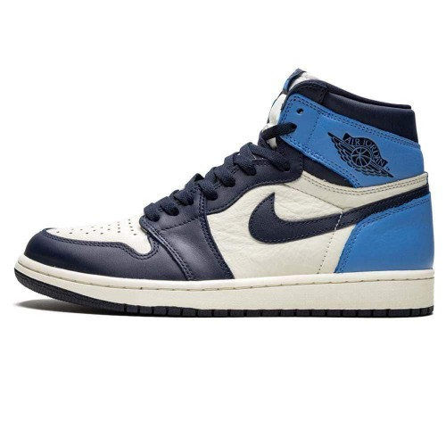 Nike Air Jordan 1 Retro High OG 'Obsidian' UNC 555088-140