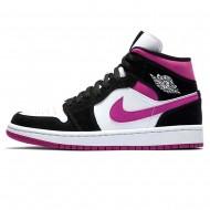 Nike Air Jordan 1 WMNS Mid 'Black Cactus Flower' BQ6472-005