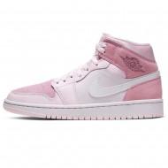 Nike Air Jordan 1 WOMEN Mid 'Digital Pink' CW5379-600