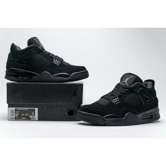 Nike Air Jordan 4 Retro 'Black Cat' CU1110-010