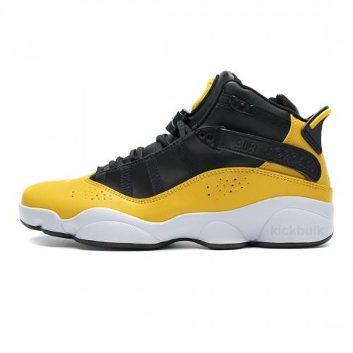 Nike Jordan 6 Rings BG Basketball Shoes Yellow 322992-700