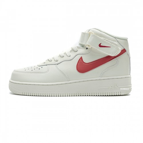 Nike Air Force 1 Mid 07 Sail University Red 315123-126