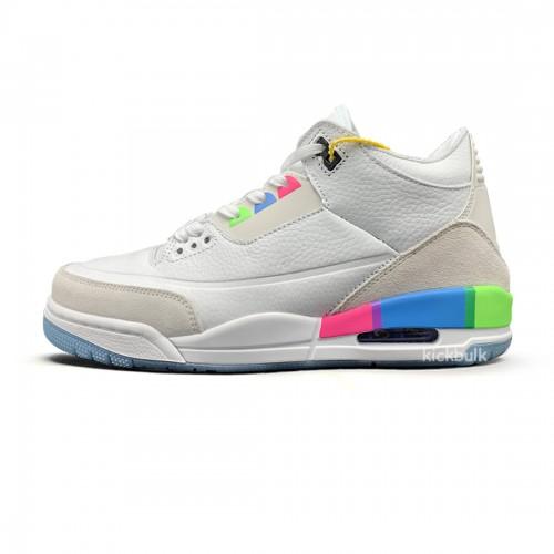 Nike AIR JORDAN 3 'QUAI 54' WHITE Q54 FOR SALE ON FEET REVIEW RELEASE AT9195-111