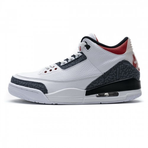 Nike Air Jordan 3 Retro Fire Red Denim CZ6431-100
