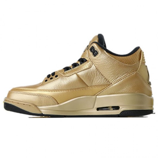 Nike OVO JORDANS X AIR JORDAN 3 DRAKE 6IX AJ3 GOLD SHOES DK6883-097