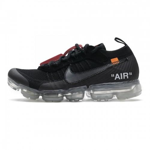 OFF White x Nike Air VaporMax 2018 Black White AA3831-002