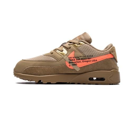 Kid's shoes OFF-WHITE x Nike Air Max 90 BT 'Desert Ore' BV0852-200