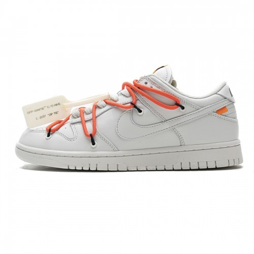 OFF White x Nike SB Dunk Low White CT0856-900