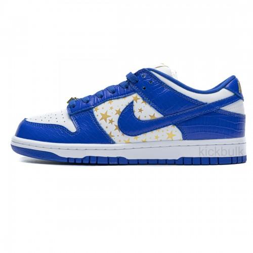 Supreme x Nike SB Dunk Low 'Blue Stars' DH3228-100
