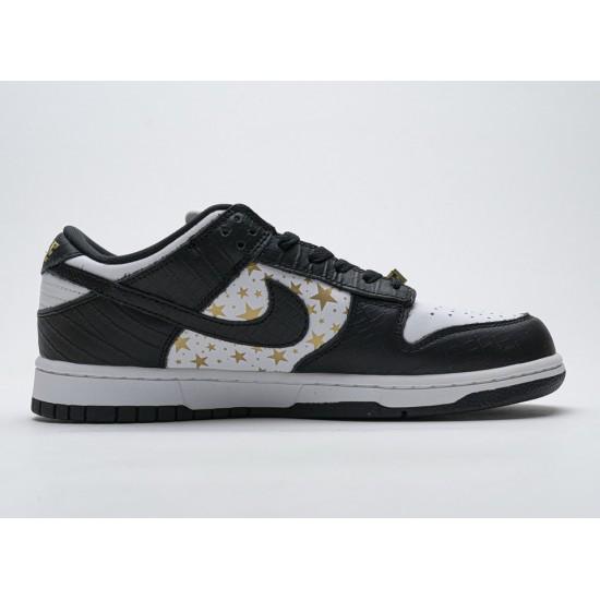Supreme x Nike SB Dunk Low 'Black Stars' DH3228-102