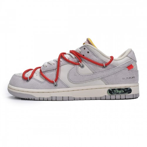 OFF-WHITE X DUNK LOW 'LOT 33 OF 50' DJ0950-118