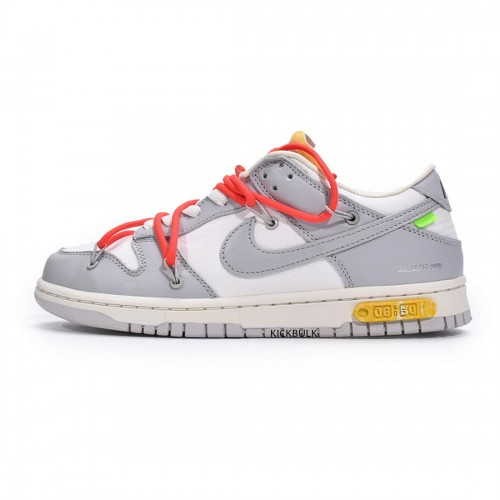 OFF-WHITE X DUNK LOW 'LOT 06 OF 50' DM1602-110