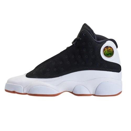 Nike AIR JORDAN 13 CITY OF FLIGHT GS SIZE GUM BLACK/GOLD/WHITE GIRLS 439358-021