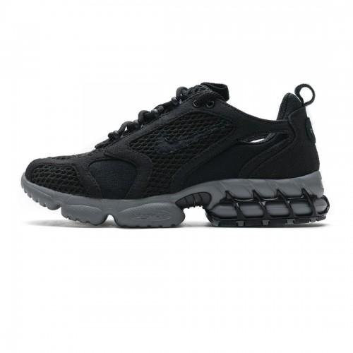Stussy x Nike Air Zoom Spiridon Cage 2 Black Cool Grey CQ5486-001