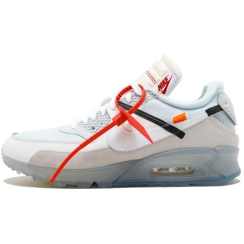 Off-White X Nike Air Max 90 White AA7293-100