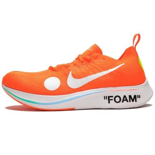 Off-White X Nike Zoom Fly Mercurial Flyknit Total Orange AO2115-800