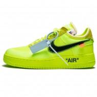Off-White X Nike Air Force 1 Volt AO4606-700