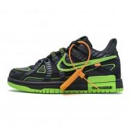 OFF White x Nike Air Rubber Dunk 'Green Strike' CU6015-001