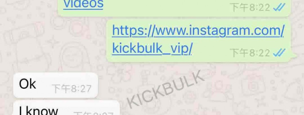 Speak with facts, our service is authentic and reliable,Share some short stories about kickbulk