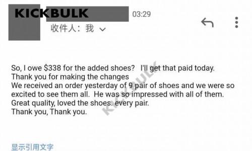 Customer Reviews of KickBulk Sneaker August 2021
