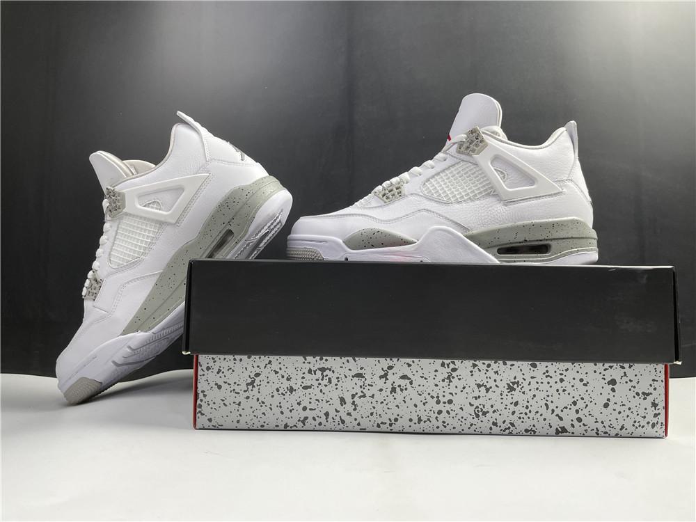 Nike Air Jordan 4 Retro White Oreo 2021 Ct8527 100 21 - www.kickbulk.co